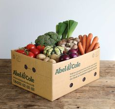 Leek it to the press, this veg box is amazing! Organic Packaging, Food Packaging, Able & Cole, Vegetable Delivery, Fruit And Veg Shop, Abel And Cole, Vegetable Packaging, Vegetable Shop, Healthy Groceries