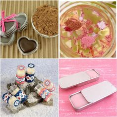 This is a great website on how to make your own lip balms.