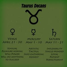 Taurus Decans    I admire a Taurus for there        -Well Rounded Ness-  💘 I love you  💘   -T.Spencer My Baba💘