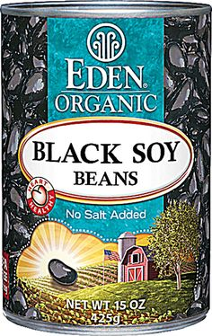 Eden Foods Organic Black Soy Beans! 8g carbs, but 7g dietary fiber... so, kind of OK to cook with in moderation.  =)