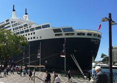 Queen Mary 2 cruise liner - Sydney, Australia 2013