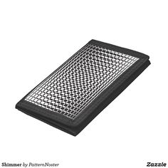 Shimmer Trifold Wallet #blackandwhite #fashion #style #retro #walletsformen  #gifts