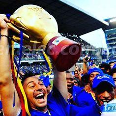 Les recuerdo que si consiguen el Campeonato 2016 aún les falta 2 Copas para recien igualar a #Emelec en los últimos años y en 1 Tricampeonato que no tienen. #Emelec #Futbolecuatoriano #FutbolEcuador