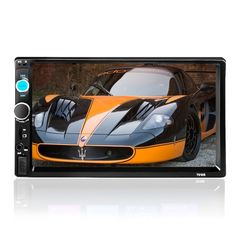 68.23$  Buy here - http://aliggx.worldwells.pw/go.php?t=32777143101 - 7 inch Universal 2 Din MP5 HD Bluetooth autoRadio MP5 Player Multimedia Entertainment TF FM Aux Input