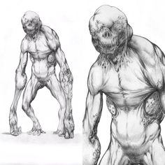 The creature of the shadows for an untitled project