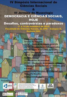 Blog do Sérgio Moura: IV Simpósio Internacional de Ciências Sociais