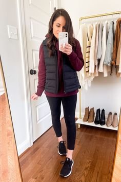 Winter Outfits Women, Casual Fall Outfits, Classic Outfits, Simple Outfits, New Outfits, Sneakers Outfit Casual, Long Puffer Coat, Athleisure Outfits, Everyday Fashion