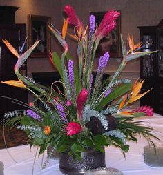 Tropical Buffet Design