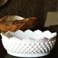 Check out this item in my Etsy shop https://www.etsy.com/listing/386621446/milkglass-dish