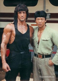 A gallery of Rambo: First Blood Part II publicity stills and other photos. Featuring Sylvester Stallone, Julia Nickson, Richard Crenna, Andy Wood and others. Rambo 2, Sylvester Stallone Rambo, Stallone Movies, Stallone Rocky, Silvester Stallone, First Blood, Hard Men, Rocky Balboa, The Expendables