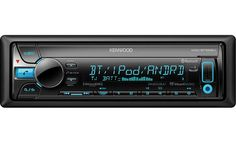 Kenwood KDC-BT565U Kenwood offers controls for Pandora, iHeartRadio, SiriusXM, and Bluetooth with aptX