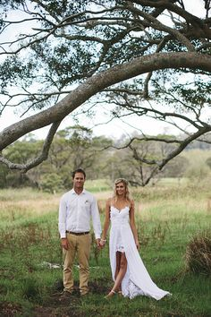 Stunning short wedding dress with shoestring by Graceloveslace,