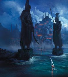 Cover art for Emissary by Fiona McIntosh. Cover art by Marc Simonetti.