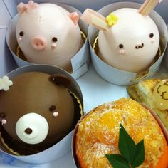 Holy eff. These are so cute. Mochi animals