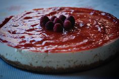 Tarta de chocolate blanco con mermelada de fresa - MyBakeryBlog