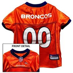 678175d94 Pets First Denver Broncos Mesh Jersey XXLarge -- You can find out more  details at