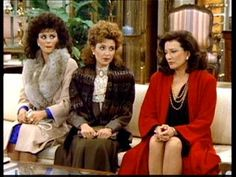 Julia, Mary-Jo, and Suzanne (Designing Women) Designing Women, Dixie Carter, Jean Smart, Delta Burke, Southern Women, Valley Girls, Old Shows, Fashion Tv, Woman Standing