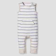 32b55682c7cd Baby Sleeveless Romper Nate Berkus™ - White Oatmeal