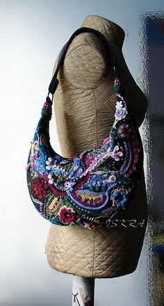 freeform handbag - beautiful!