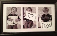 dadbday+-+i+heart+papa.JPG - Babyfotos , dadbday+-+i+heart+papa.JPG dadbday + - + i + heart + papa. Daddy Gifts, Gifts For Dad, Dad Birthday, Birthday Gifts, Happy Birthday, Cadeau Parents, Cadeau Surprise, Daddy Day, Fathers Day Crafts