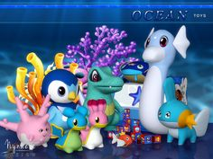 Cute and colorful toys! Sea-dwelling decor creatures, toys, nesting blocks and a toy box for sims kids and toddlers. Found in TSR Category 'Sims 4 Downloads'