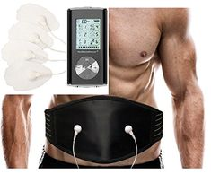 Electro Smart Pain Relief Massage Therapy 6 Modes Device | Body Sport Massager | Electronic Abdominal Belt for Abdominal Toner | Can be used as a Waist Trimmer Belt for Weight Loss + Extra Massager Beltplus | Therapeutic Solution (Black) HealthmateForever HM6GL Lifetime Warranty! | http://activelifeessentials.com/health-and-fitness/abdominal-toning-belt/electro-smart-pain-relief-massage-therapy-6-modes-device-body-sport-massager-electronic-abdominal-belt-for-abdominal-toner-c