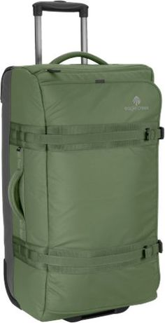 """Eagle Creek No Matter What Flatbed Wheeled Luggage - 28"""" Olive 28 In"""