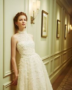 The Amelia Bridal Gown, a Novarese exclusive