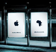 Apple, Africa, third world , street , station