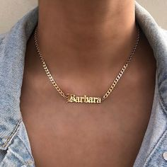 Personalized Dual Ring Love Dangle Charm Rolo Chain Necklace Laser-engraving Name Customize Name