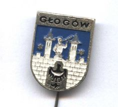 GŁOGÓW (Glogau) Polish City Coat of Arms (1962-90) pin badge POLAND    eBay