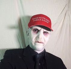 "70 Likes, 8 Comments - JJ Caruncho (@jjcaruncho) on Instagram: ""Happy Halloween! A message from Lord Voldytrump. ""They say I led an evil rebellion. Total. Fake.…"""