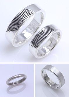 Alianzas con huellas/ wedding rings  Read more in my blog, just click on the image! No olvideis pasar por el blog clickeando en la imagen!