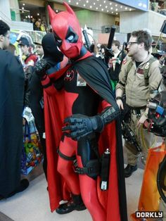 Batpool Cosplay (Batman/Deadpool)
