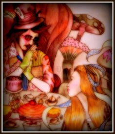 The Tea Party Alice meets The Mad Hatter