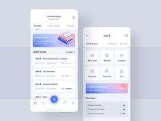 Improve your learning process 📚 designed by Aga Ciurysek for Connect with them on Dribbble; the global community for designers and creative professionals. Ui Design Mobile, Mobile Ui, App Design Inspiration, Work Inspiration, Interface Design, User Interface, Conception D'interface, Web Design, Design Layouts