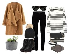 """Untitled #55"" by wmaria ❤ liked on Polyvore featuring J Brand, Kate Spade, Timex, J.Crew, Ray-Ban and Rough Fusion"