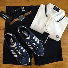 Classic Fred Perry I wore as a school shirt! Football Casual Clothing, Football Casuals, Football Fashion, Football Outfits, Casual Wear, Casual Outfits, Men Casual, Différents Styles, Hype Clothing
