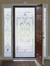 Window Film World Has A Huge Selection Of Decorative, Stained Glass & Privacy Window Film Along With Etched Decals & Screen Magnets. Wooden Door Design, Wooden Doors, Small Condo Living, Easy Wall, Window Film, Window Decals, Glass Design, Window Coverings, Stained Glass