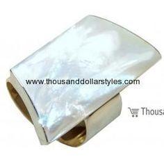 Amara 925 Sterling Silver hi fashion Thousand dollar style Gemstone Ring for women