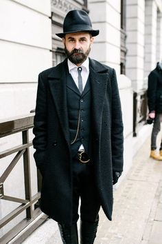 Street Style - London Collections: Men AW14 - Pictures - Zimbio