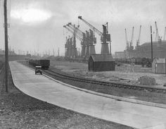 Swansea Docks-Old Dock Images