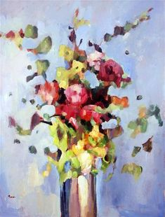 """Bright and Bold Bouquet"" by Nava L"