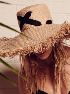 86fb0e24401 Lola Hats For FP Cross My Heart Straw Hat at Free People Clothing Boutique  Top Hats