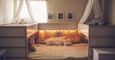 Deze Ikea-hack is té leuk voor voor gezinnen die aan co-slapen doen