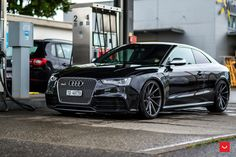 https://flic.kr/p/xLwPAi | Audi - RS5 - CVT - Gloss Graphite - © Vossen Wheels 2015 - 1011_