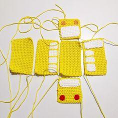 - Lilly is Love Crochet Patterns Amigurumi, Crochet Dolls, Knitting Patterns, Crochet Car, Baby Barn, Spring Crafts, Diy Party, Doll Toys, Baby Toys