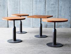 """Table-Guéridon """"Piston"""" bois"""
