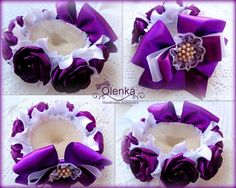 Фотография Bun Wrap, Kanzashi Flowers, Satin Flowers, Floral Crown, Bun Hairstyles, Little Princess, Wands, Baby Dress, Hair Bows