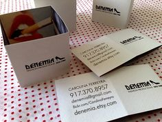 Business Card for: Carolina Ferreyra | The Best of Business Card Design